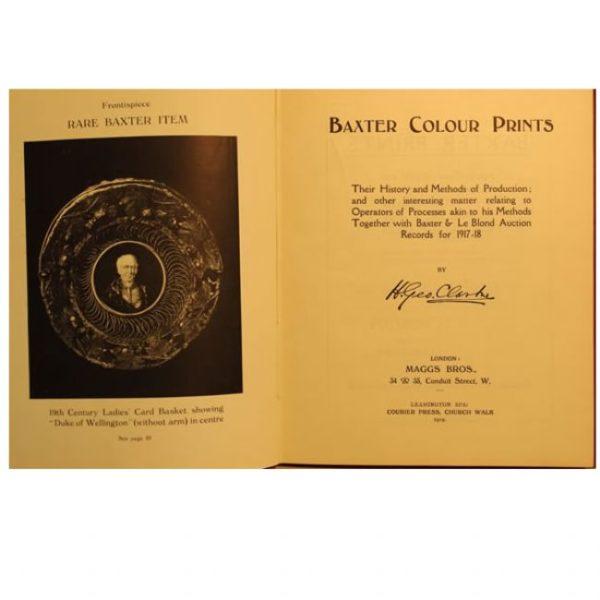 Baxter Colour Prints by HG Clarke