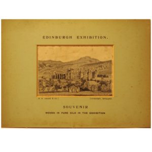 Souvenir Edinburgh Exhibition Holyrood Palace