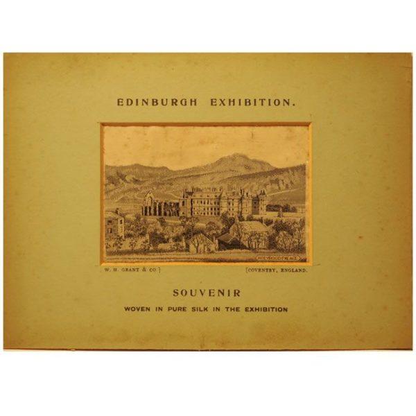 Souvenir Edinburgh Exhibition Holyrood Palace