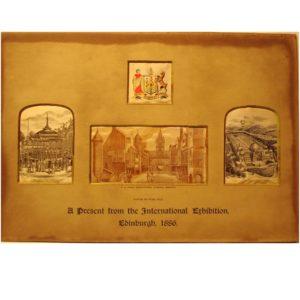 A Present from the International Exhibition Edinburgh 1886 Version 1
