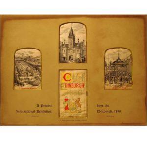 A Present from the International Exhibition Edinburgh 1886 Version 3