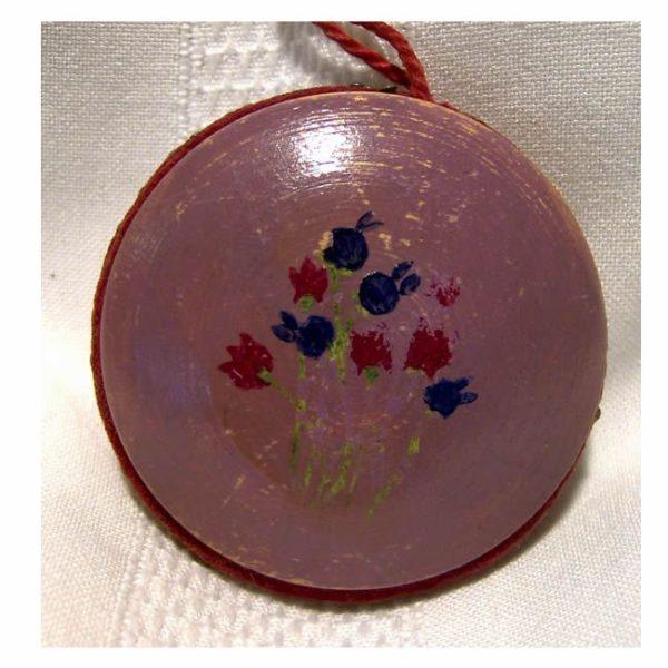 Painted Circular Pin Cushion