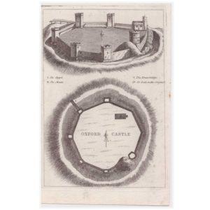 Oxford Castle Plan