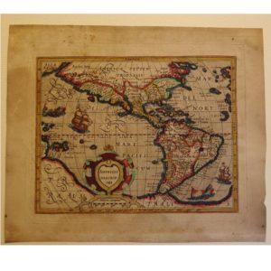 "Gerard Mercator ""Americae Descrip"" 1607"