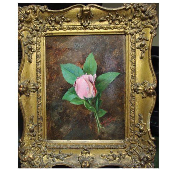 Still Life of a Rose by Robert Clarkson