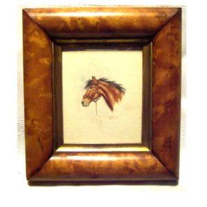 Watercolour of Horses Head