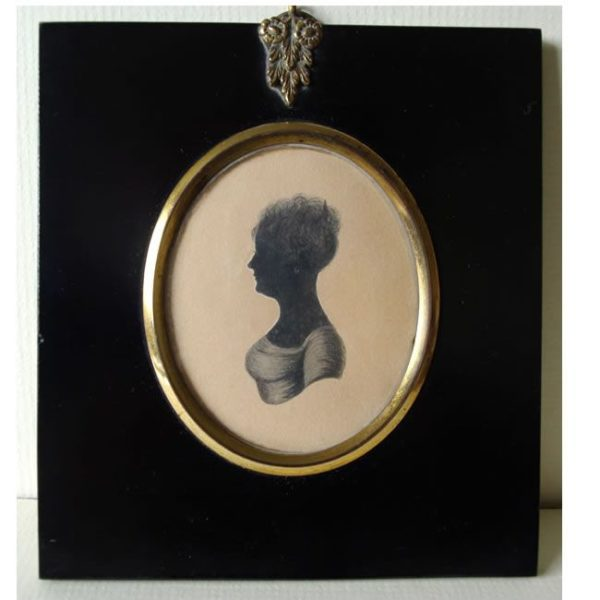 Silhouette by William Hamlet the Elder