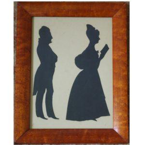 Edouart Silhouette 1837
