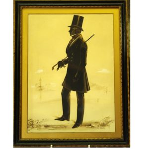 Frith Silhouette Mr AJ Lambe 1845