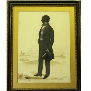 Frith Silhouette Mr U Wight 1845