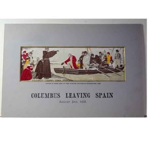 Columbus Leaving Spain