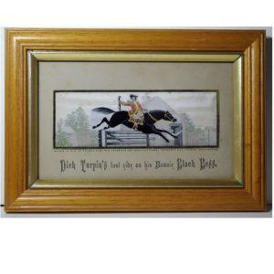 Dick Turpins Last Ride on His Bonnie Black Bess