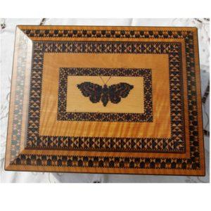 Butterfly Motif Work Box