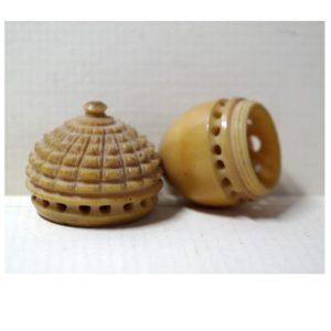 Vegetable Ivory Needle Case (V13)