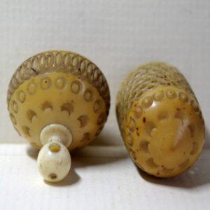 Vegetable Ivory Needle Case (V4)